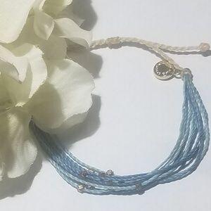 Pura Vida Blue Shades Friendship bracelet